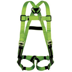 Miller Fall Protection DuraFlex Python Ultra Harnesses, Back D-Ring, Universal