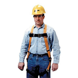 Miller Fall Protection Mating Chest&Shoulders, Titan Full-Body Harnesses, Back D-Ring, Tongue Legs
