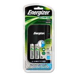 Technuity Energizer Eveready Battery Charger, Nimh AA 15 Minute