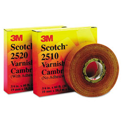"3M 2520 Varnished Cambrictape 3/4"" x 60'"