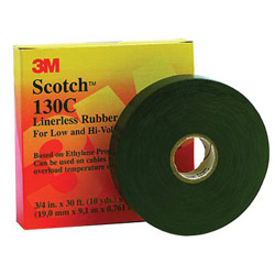 "Scotch 130C Linerless Splicing Tape, 2"" x 30ft"