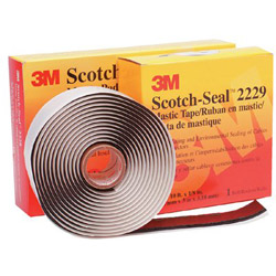 "3M 2229 3-3/4"" x 10' Mastic Compound"