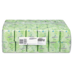 Marcal 100% Recycled Two-Ply Bath Tissue, Septic Safe, 2-Ply, White, 500 Sheets/Roll, 48 Rolls/Carton