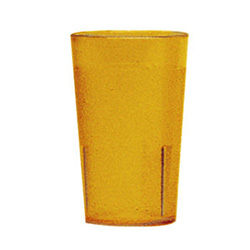Cambro 5 Oz Hot/Cold Plastic Tumblers, Yellow, Pack of 72