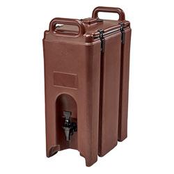 Cambro Camtainer® 5 Gallon Capacity Dark Brown