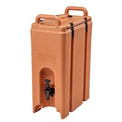 Cambro Camtainer® 5 Gallon Capacity Coffee Beige