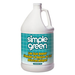 Simple Green Lime Scale Remover, Wintergreen, 1 gal, Bottle, 6/Carton