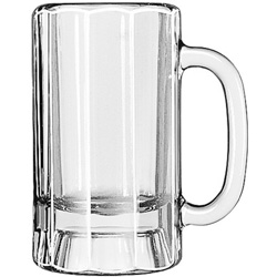 Libbey Paneled Beer Mug, 14 Oz