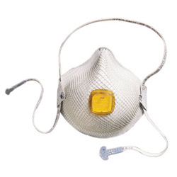 Moldex N95 Mask/Particulate Respirator with Handystra, Medium/Large