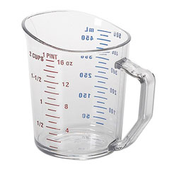 Cambro Measuring Cup 1 Pint Clear