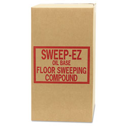 Sorb-All Oil-Based Sweeping Compound, Grit-Free, 50lbs, Box