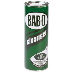 Disco Bab-O® Cleanser with Bleach, 21 OZ, Case of 24