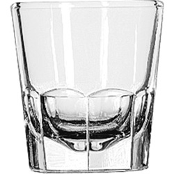 Libbey 5130 5 Ounce Fluted Old Fashioned Glass