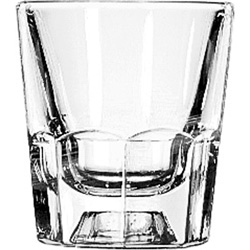 Libbey 5131 4 Ounce Fluted Old Fashioned Glass
