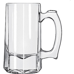 Libbey Beer Glass, 10 Oz