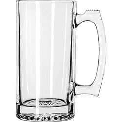Libbey Beer Glass, 25 Oz