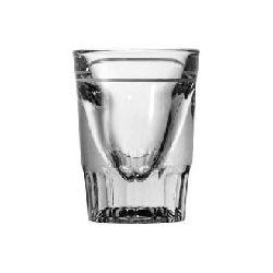Anchor Hocking 1.5 Oz. Whiskey Glass with 3/4 Oz. Line