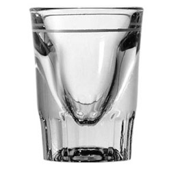 Anchor Hocking 1.5 Oz. Whiskey Glass with 7/8 Oz. Line