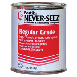 Never-Seez 1lb Can Anti-seize Andpressure Lu