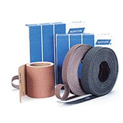Norton K225 Metalite Abrasive Roll, Cloth Backing, Aluminum Oxide, 2 in Width x 50yd Length, Grit P80