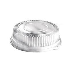 "Sabert Dome Lid for 12"" Platters, Clear"