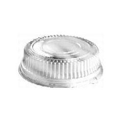 "Sabert Dome Lid for 16"" Platters, Clear"