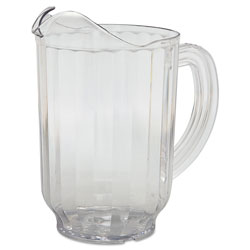 Carlisle Foodservice Products Clear VersaPour Polycarbonate Pitcher, 60 Ounce