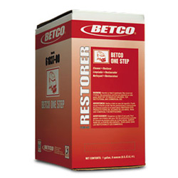 Betco One Step-Floor Cleaner/Restorer 4L B-I-B 2/Cs