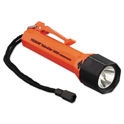 Pelican SabreLite 2000 Flashlight, 3 C, Orange