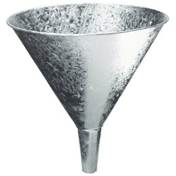 Plews 4 Qt. Galvanized Funnel