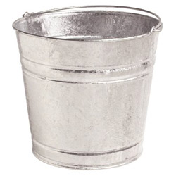 Plews 12 Quart Galvanized Pail