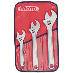 Proto Set Wrench Adjustable 3 Pc
