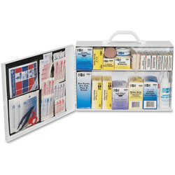 Pac-Kit 2 Shelf Industrial Firstaid Station