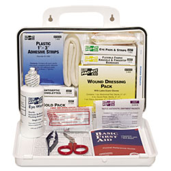 Pac-Kit ANSI Plus #25 Weatherproof First Aid Kit, 143-Pieces, Plastic Case