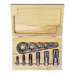 Irwin HANSON Tap & Die Set, Steel, 12 Pieces