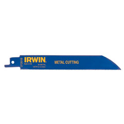 "Irwin 6"" Reciprocating Saw Blade 18 TPI (5 Pack)"