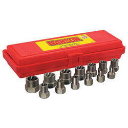 "Irwin 13-Piece Bolt Extractor Set, 3/8in Drive, 1/4""-3/4"""