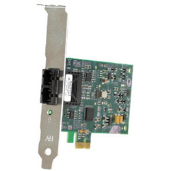 Allied Telesis AT 2711FX/ST - Network Adapter - PCI Express X1 - Fast EN - 100Base-FX - 850 Nm - TAA
