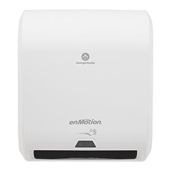 enMotion 10 in Automated Touchless Paper Towel Dispenser, White, 59407A, 14.700 in W x 9.500 in D x 17.300 in H