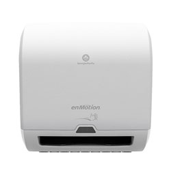 enMotion Impulse® 8 in 1-Roll Automated Touchless Paper Towel Dispenser, White, 59437A, 12.700 in W x 8.580 in D x 13.800 in H