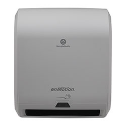 enMotion 10 in Automated Touchless Paper Towel Dispenser, Gray, 59460A, 14.700 in W x 9.500 in D x 17.300 in H