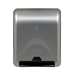 enMotion 8 in Recessed Automated Touchless Paper Towel Dispenser, Stainless, 59466A, 13.300 in W x 8.000 in D x 16.400 in H