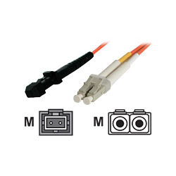 Startech Multimode 50/125 Duplex Fiber Patch Cable LC - MTRJ - Network Cable - 10 Ft