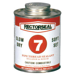 Rectorseal No. 7 1pt Btc Pipe Thread Sealant Black