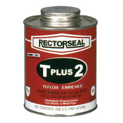 "Rectorseal T Plus 2 1/2""pt Btc Pipe Thread"