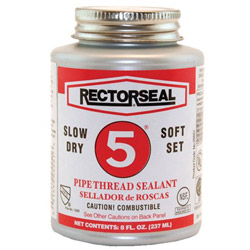 "Rectorseal No.5 1/2""pt Btc Pipe Thread"