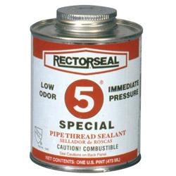 Rectorseal No.5 1pt Special Btc Pipe Thread Sealant Gra