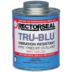 Rectorseal Tru-blu 1 Point Btc Pipe Thread