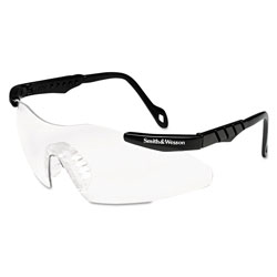 Smith & Wesson Magnum 3G Safety Eyewear, Black Frame, Clear Lens