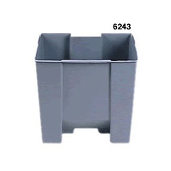 Rubbermaid Gray Plastic Rigid Trash Can Liners for RUB6145